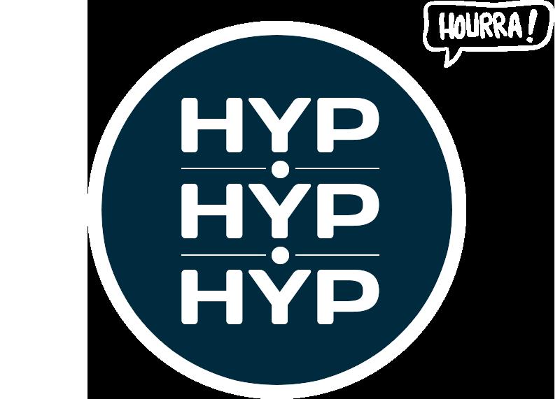 Hyphyphyp - Logo - Séance d'hypnose